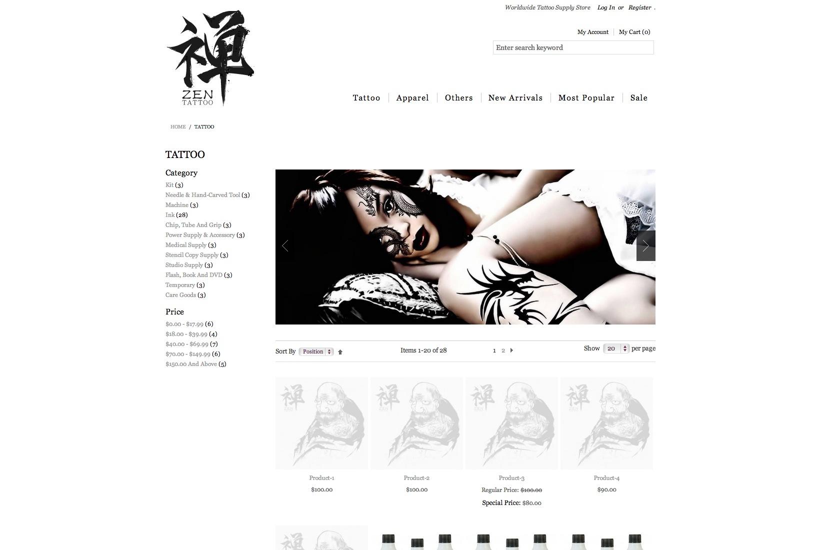 Zen Tattoo